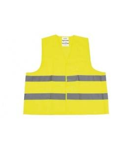 Chaleco refelctante amarillo.