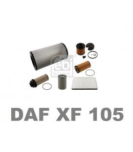 KIT FILTROS DAF XF 105