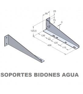 SOPORTES BIDON AGUA 30L