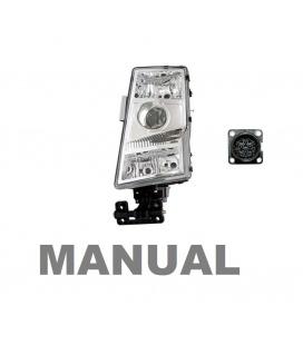 FARO VOLVO FH -FM /Manual/conector redondo
