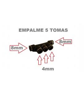 EMPALME DE AIRE 8MM X 4MM