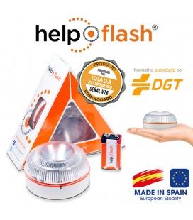 LUZ EMERGENCIA HELP--FLASH
