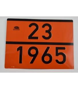 PLACA BUTANO 23-1965