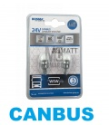 LAMPARAS W5W CUÑA 24V LEDS CANBUS