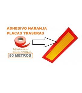 50 Mettros adhesivo reparar placas traseras