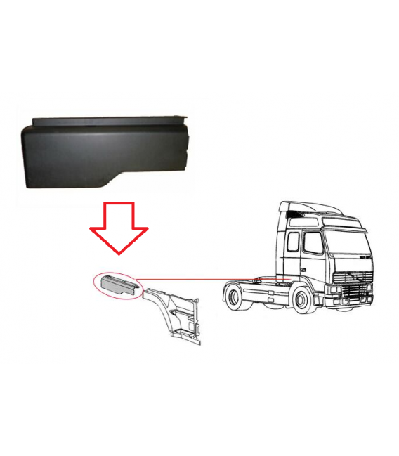 EXTENSION GUARD/VOLVO/FH/DCH