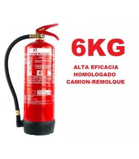 Extintor 6kg alta eficacia.