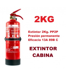EXTINTOR 2KG CABINA CAMION