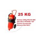 Extintor 25KG CARRO