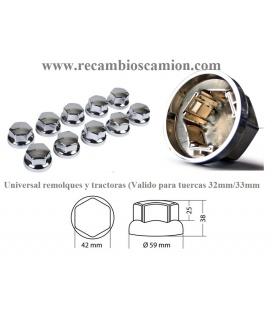 10 CUBRETUERCAS 32 / 33M PLASTICO