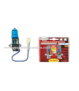 2 LAMPARAS H3 24V BLUE/XE