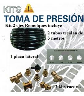 KIT 2 EJES TOMA PRESION ITV