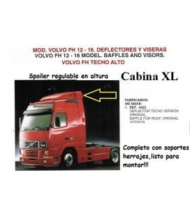 SPOILER VOLVO FH12 -16 CABINA XL