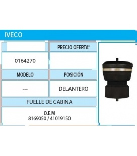 SUSPENSION CABINA IVECO DEL