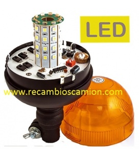 ROTATIVO & FLASH LEDS 24V/12V.