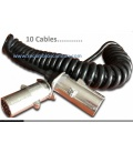 10 Cables 7 polos EuropeoTipo N