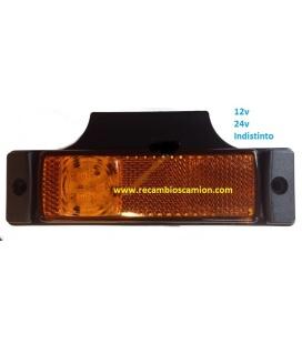 PILOTO LED 24V/12V 3 LEDS