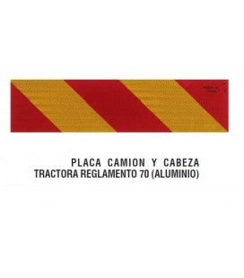 PLACAS ( 2) TRACTORAS