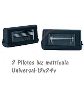 2 PILOTOS LUZ MATRICULA