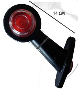 Piloto brazo goma mediano