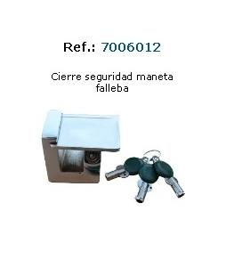 CIERRE SEGURIDAD MANETA FALLEBA