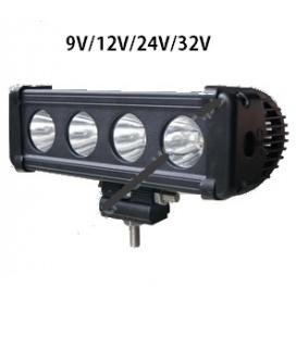 Panel LED 4x10W -9V-12V-24V-32V.