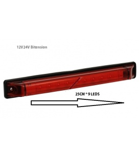 LUZ FRENO LEDS 12V-24V Bitension.