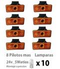 LOTE PILOTOS LAMPARAS