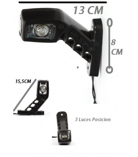 PILOTO LEDS 24V/12V 3 LUCES