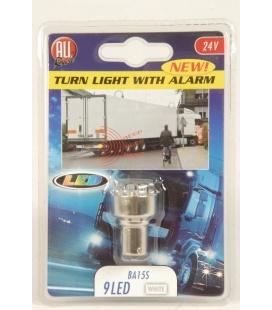 LAMPARA CON ALARMA 9 LEDS 24V