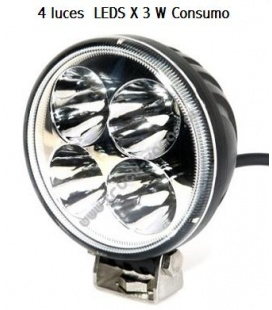 MINI FARO 55MM LEDS 9V/32V UNIVERSA L