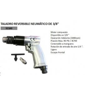 TALADRO NEUMATICO REVERSIBLE.
