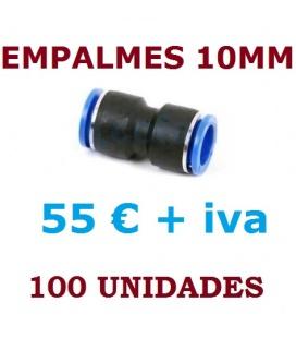 EMPALMES RAPIDOS 10 MM (100 UNIDADES)