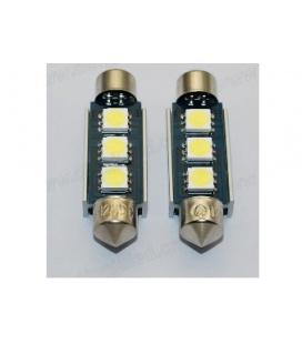 LAMPARAS (2) 12V LEDS PLAFON