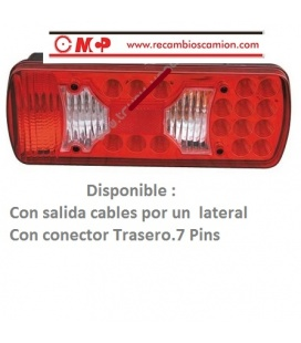 PILOTO SCANIA LEDS & LAMPARAS