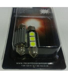 LAMPARA PLAFON 3 LEDS 24V