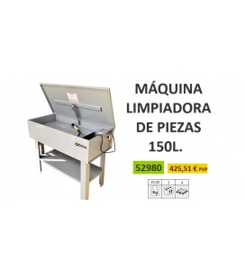 LIMPIADORA DE PIEZAS 150L