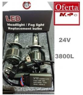 LAMPARA H4 LEDS 3800 LUMENS