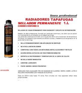 TAPAFUGAS RADIADOR CERAMICO 1 L