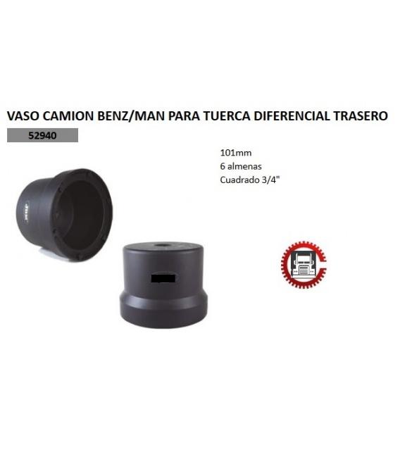 VASO CAMION BENZ/MAN PARA TUERCA DIFERENCIAL TRASERO