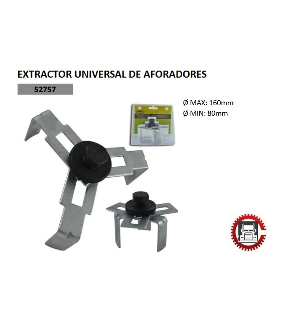 EXTRACTOR UNIVERSAL DE AFORADORES