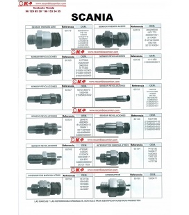 SENSORES SCANIA CATALOGO