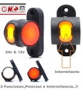 PILOTO 2 FUNCIONES LEDS/ NEON LED 24V/12V