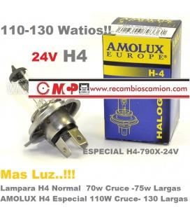 AMOLUX H4-110W-130W MAS POTENCIA!!