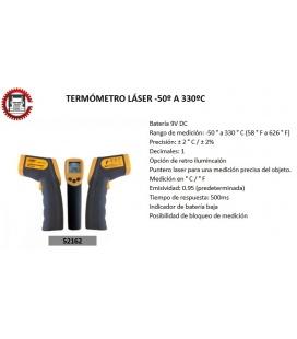 TERMOMETRO LASER -50º A 330 ºC