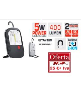 LINTERNA LEDS LITIO 400 LUMENS