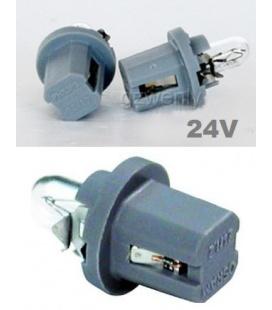 LAMPARA 1,2W-24V Casquillo Gris