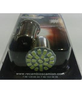 LAMPARA 22 LEDS 24V CAMION