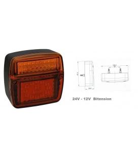 PILOTO 3 FUNCIONES LED-24V/12V