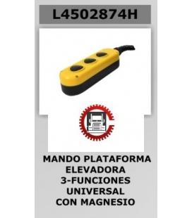 MANDO PUERTA ELEVADORA 3 BOTONES